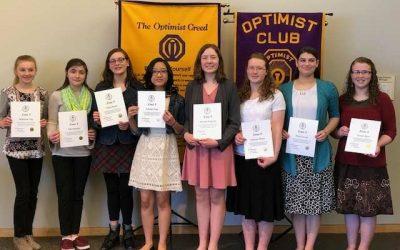 Optimist Oratorical Contest