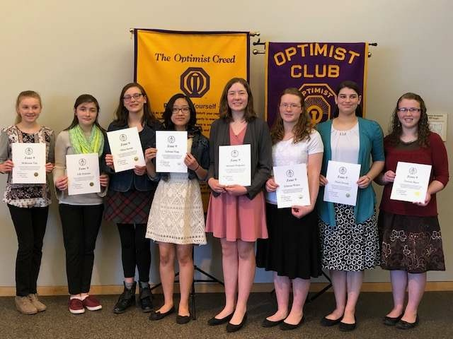 Optimist Oratorical Contest